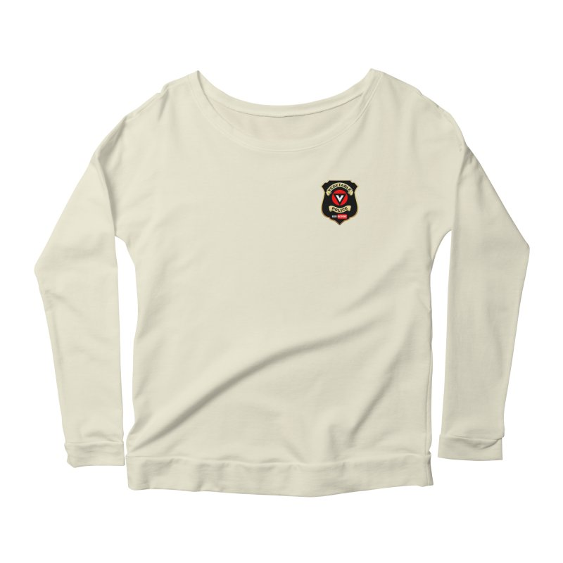 Vegetable Police (just badge) Women's Longsleeve T-Shirt by Vegetable Police