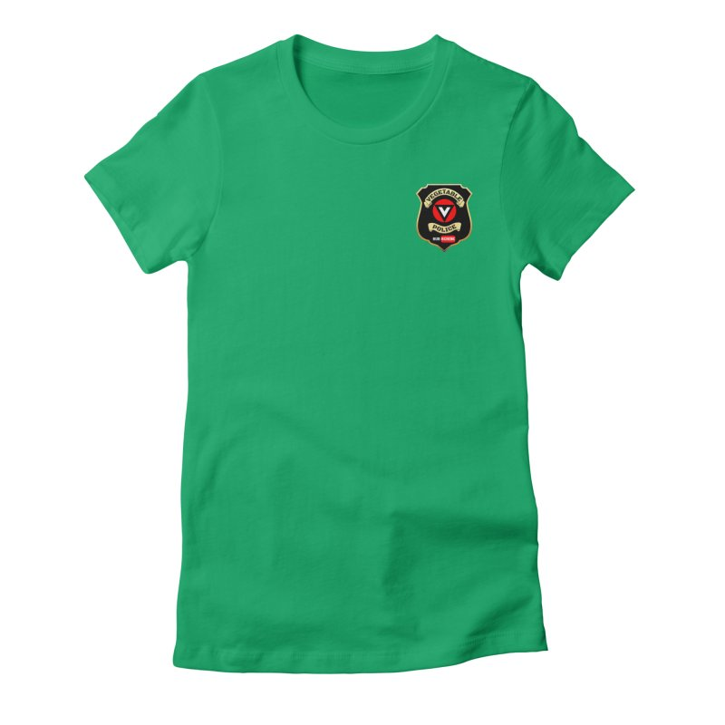Vegetable Police (just badge) Women's T-Shirt by Vegetable Police