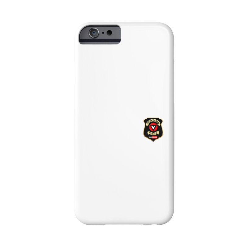 Vegetable Police (just badge) Accessories Phone Case by Vegetable Conspiracies