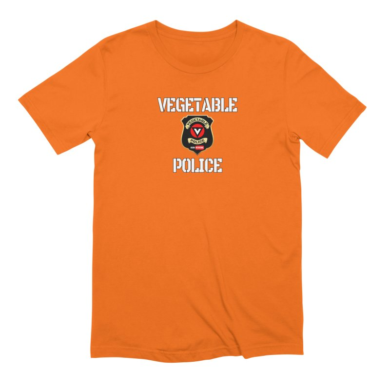 Vegetable Police Men's T-Shirt by Vegetable Police