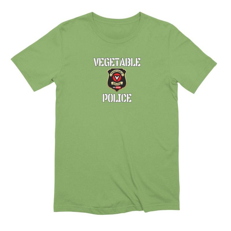 Vegetable Police Men's T-Shirt by Vegetable Police