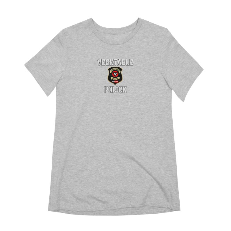 Vegetable Police Women's Extra Soft T-Shirt by Vegetable Police