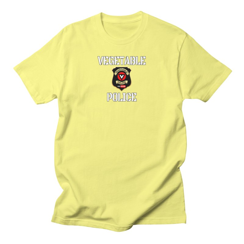 Vegetable Police Men's T-Shirt by Vegetable Conspiracies