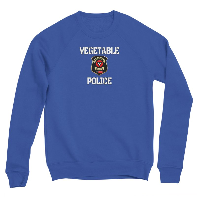 Vegetable Police Men's Sweatshirt by Vegetable Conspiracies