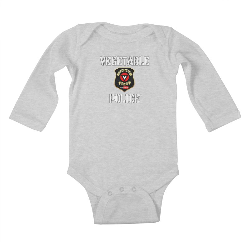 Vegetable Police Kids Baby Longsleeve Bodysuit by Vegetable Police