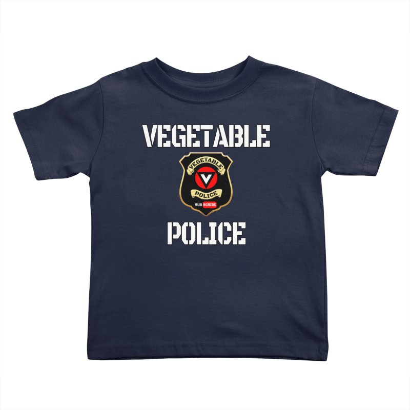 Vegetable Police Kids Toddler T-Shirt by Vegetable Police