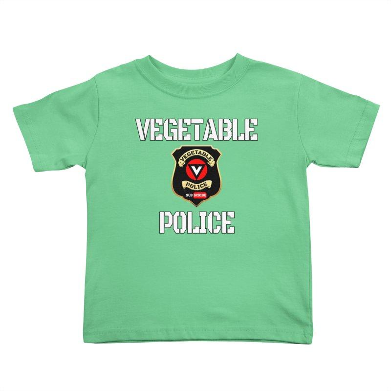 Vegetable Police Kids Toddler T-Shirt by Vegetable Police