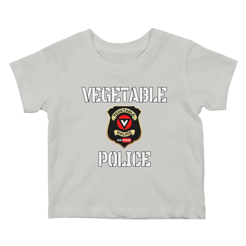 Vegetable Police Kids Baby T-Shirt by Vegetable Police