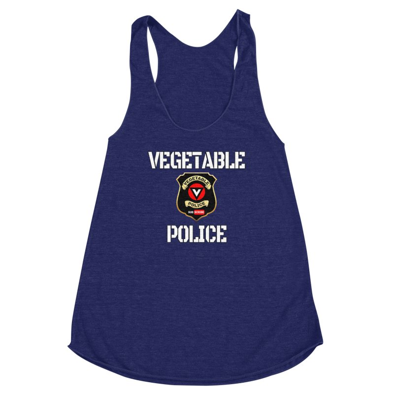 Vegetable Police Women's Tank by Vegetable Police