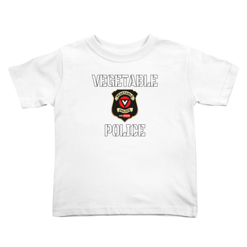 Vegetable Police Kids Toddler T-Shirt by Vegetable Conspiracies