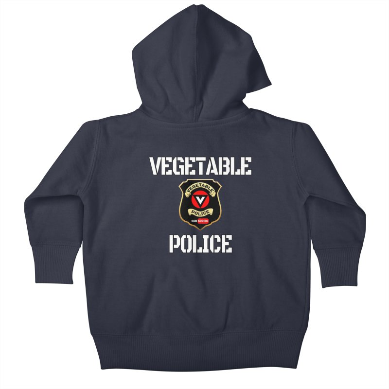 Vegetable Police Kids Baby Zip-Up Hoody by Vegetable Police