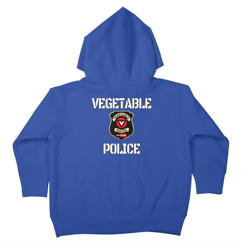 Vegetable Police Kids Toddler Zip-Up Hoody by Vegetable Conspiracies