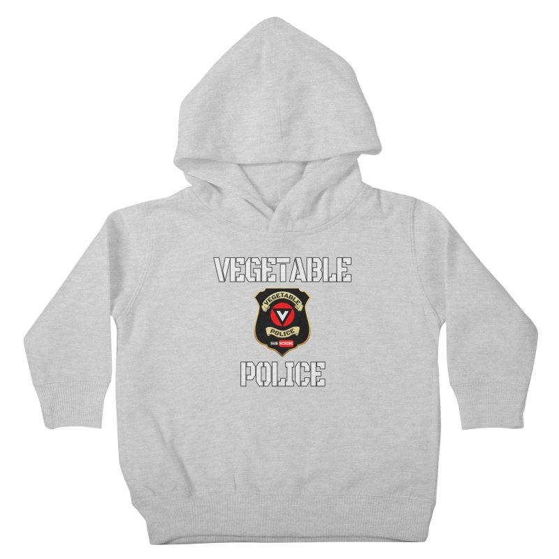Vegetable Police Kids Toddler Pullover Hoody by Vegetable Conspiracies