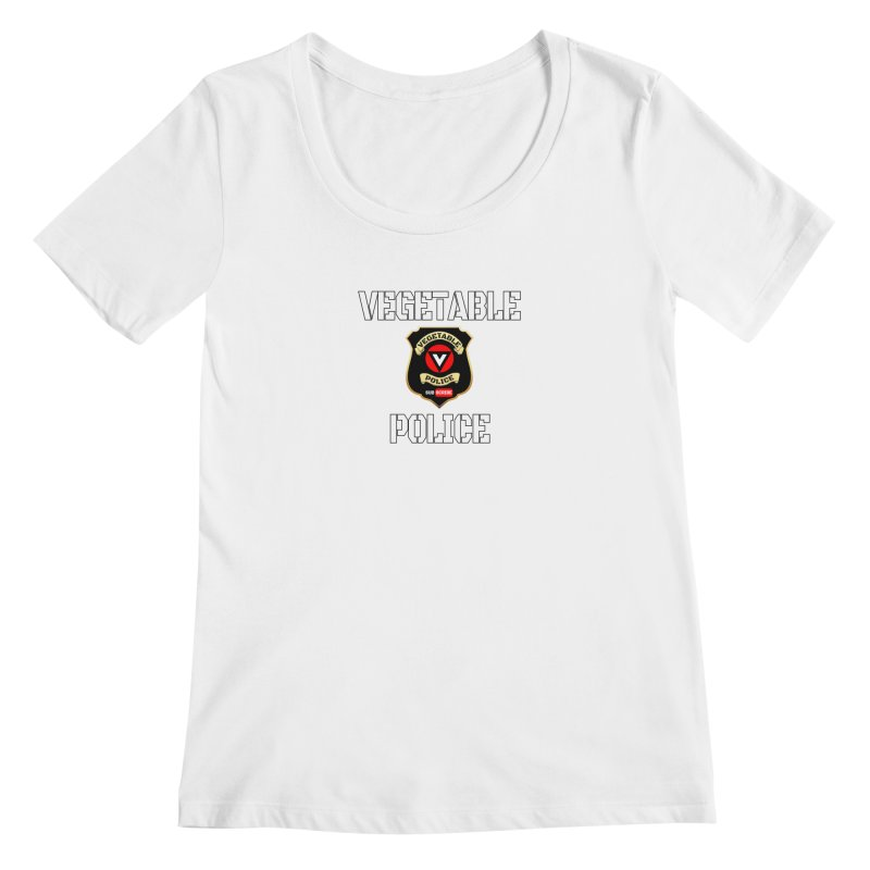 Vegetable Police Women's Scoopneck by Vegetable Police