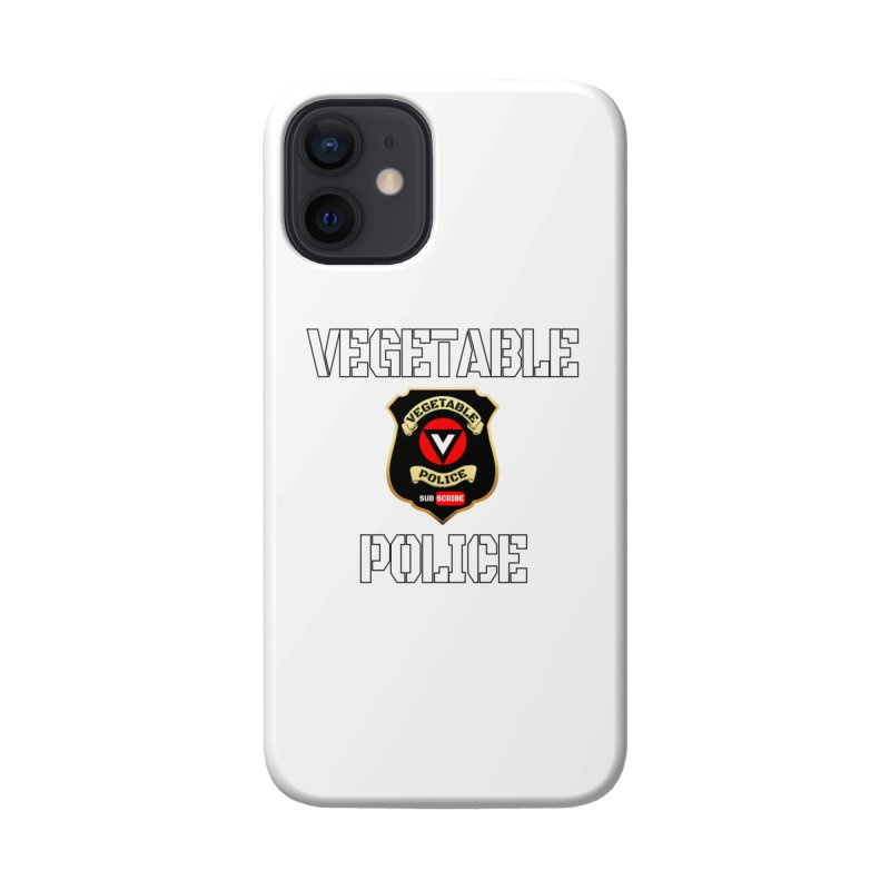 Vegetable Police Accessories Phone Case by Vegetable Conspiracies