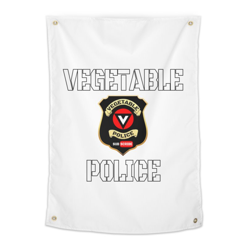 Vegetable Police Home Tapestry by Vegetable Police