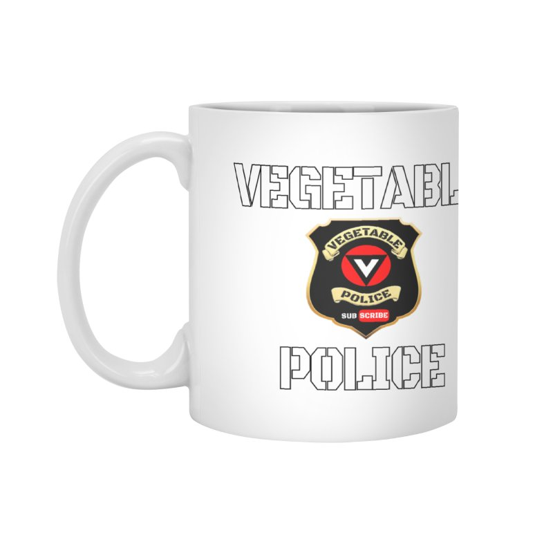 Vegetable Police Accessories Mug by Vegetable Conspiracies