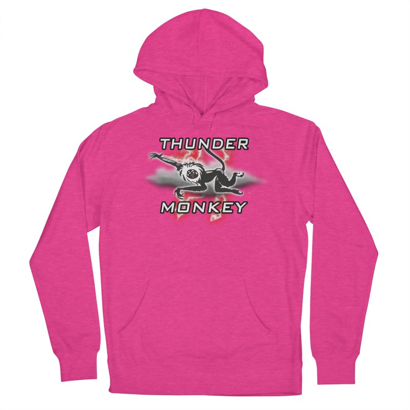 Thunder Monkey 2 Women's French Terry Pullover Hoody by Vegetable Police