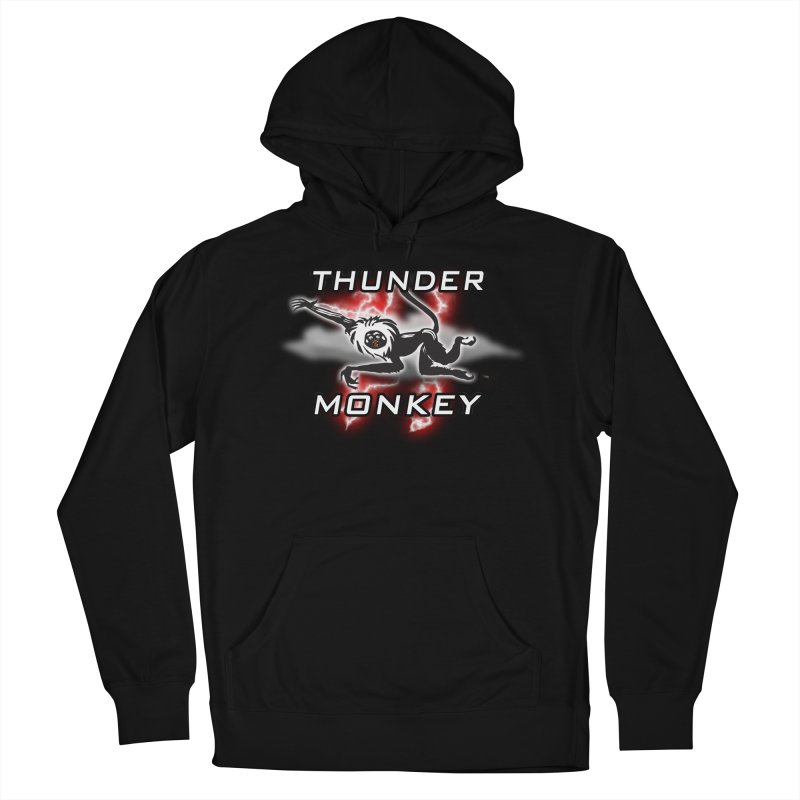 Thunder Monkey 2 Women's Pullover Hoody by Vegetable Police
