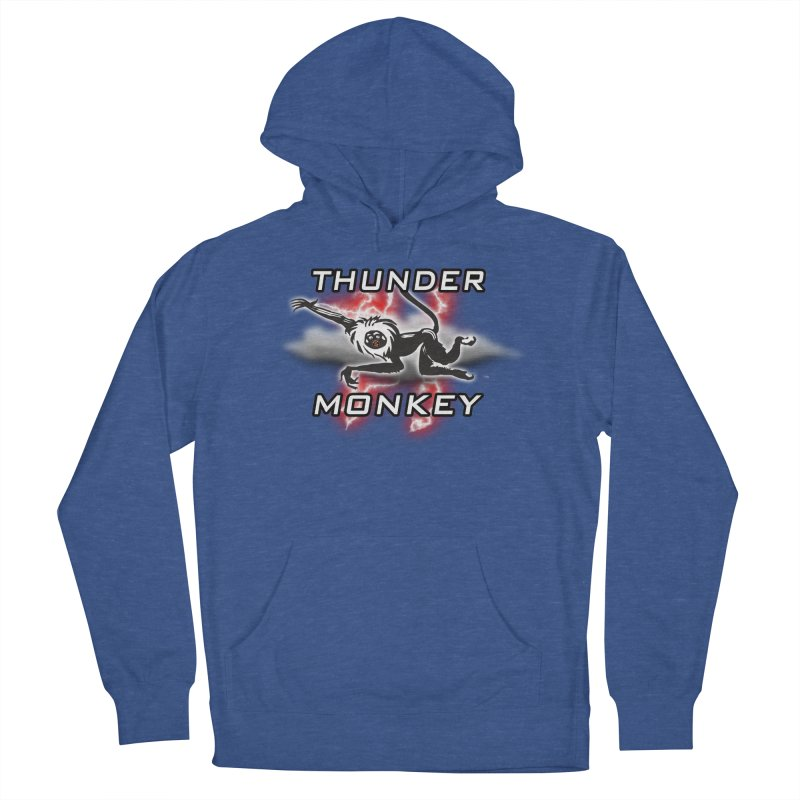 Thunder Monkey 2 Men's French Terry Pullover Hoody by Vegetable Police
