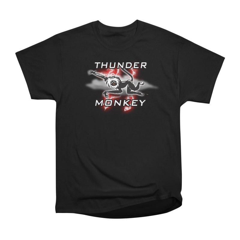 Thunder Monkey 2 Women's Classic Unisex T-Shirt by Vegetable Police