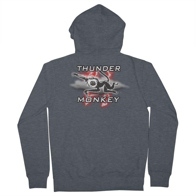 Thunder Monkey 2 Women's Zip-Up Hoody by Vegetable Police