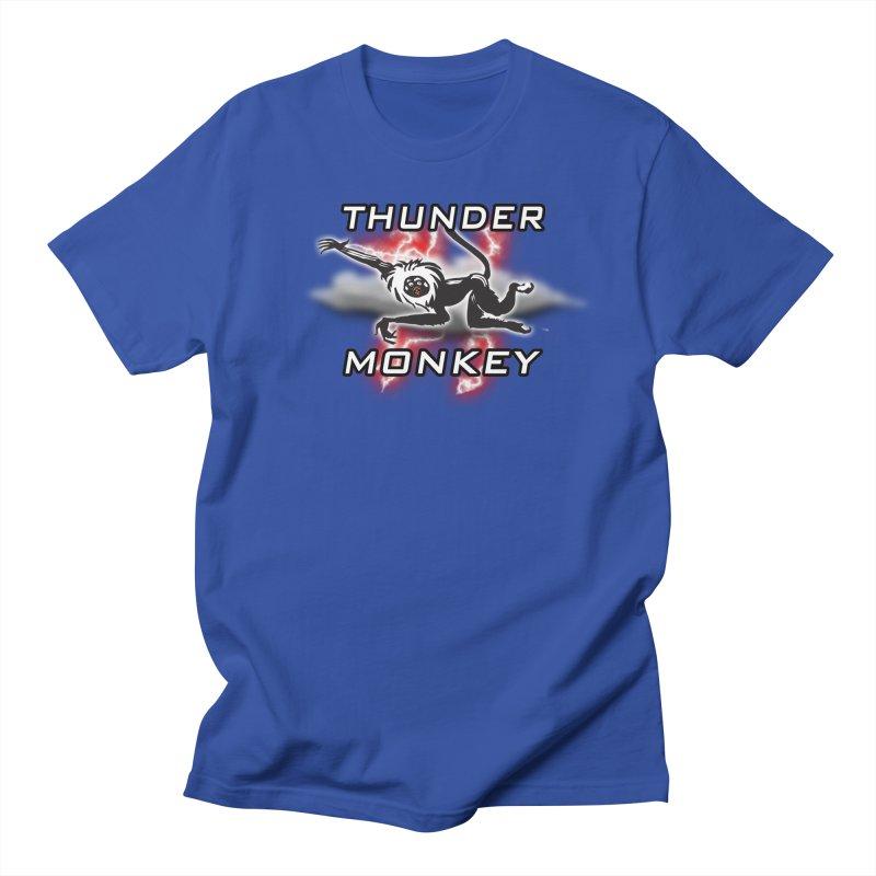 Thunder Monkey 2 Men's T-Shirt by Vegetable Police
