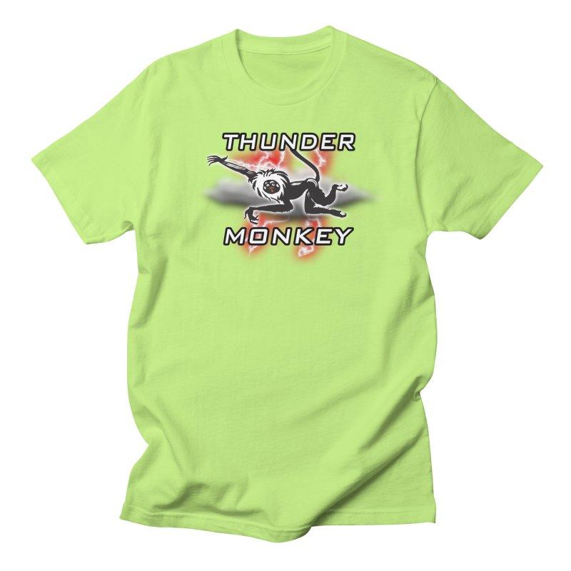 Thunder Monkey 2 Women's Unisex T-Shirt by Vegetable Police