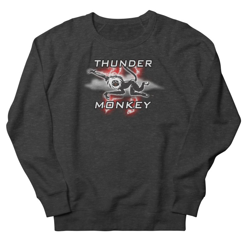 Thunder Monkey 2 Women's French Terry Sweatshirt by Vegetable Police