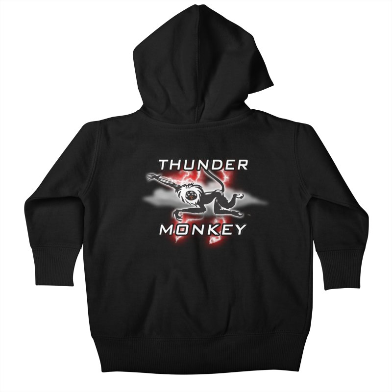 Thunder Monkey 2 Kids Baby Zip-Up Hoody by Vegetable Police