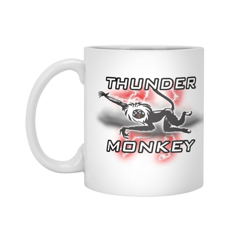 Thunder Monkey 2 Accessories Mug by Vegetable Police