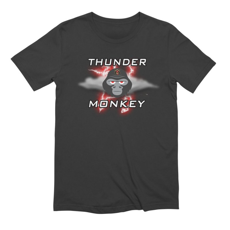 Thunder Monkey Men's T-Shirt by Vegetable Police