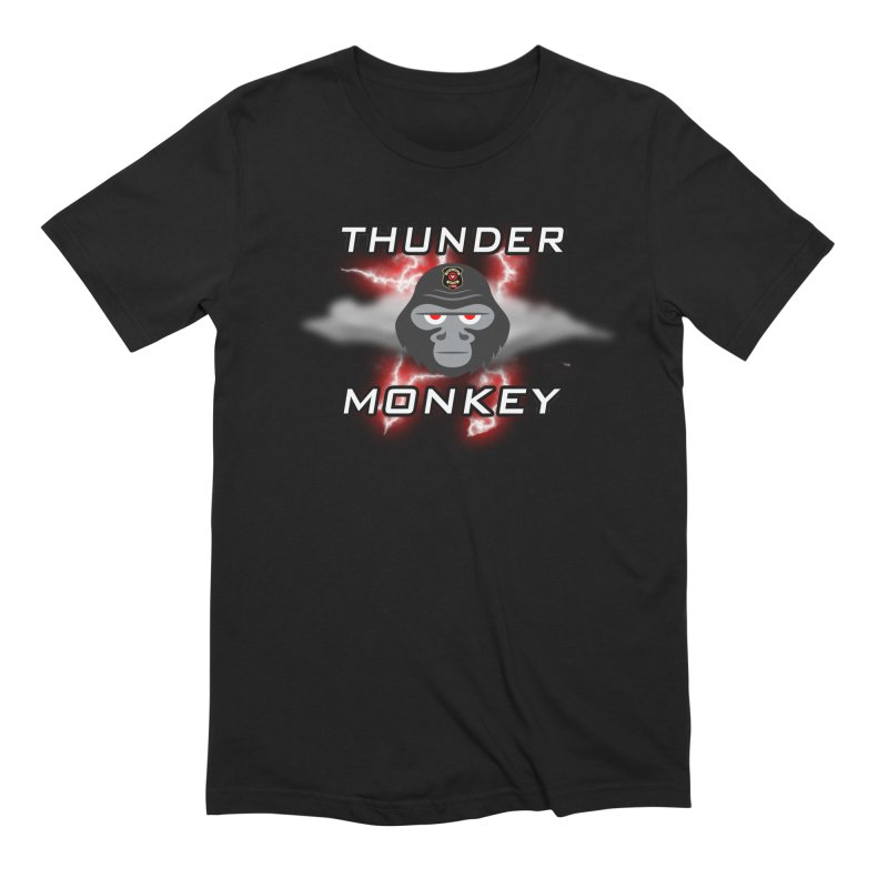 Thunder Monkey Men's Extra Soft T-Shirt by Vegetable Police