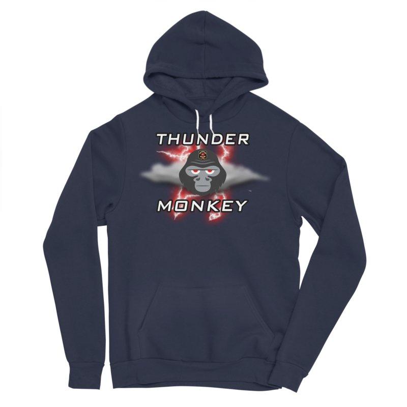 Thunder Monkey Men's Pullover Hoody by Vegetable Police