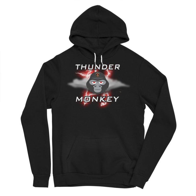 Thunder Monkey Men's Sponge Fleece Pullover Hoody by Vegetable Police