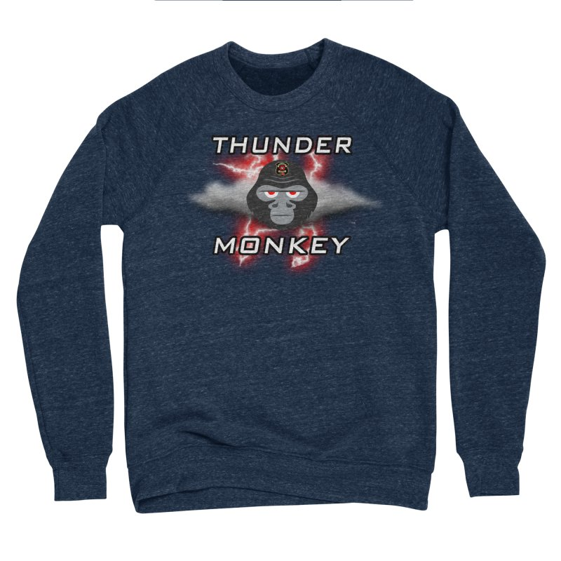 Thunder Monkey Men's Sweatshirt by Vegetable Police