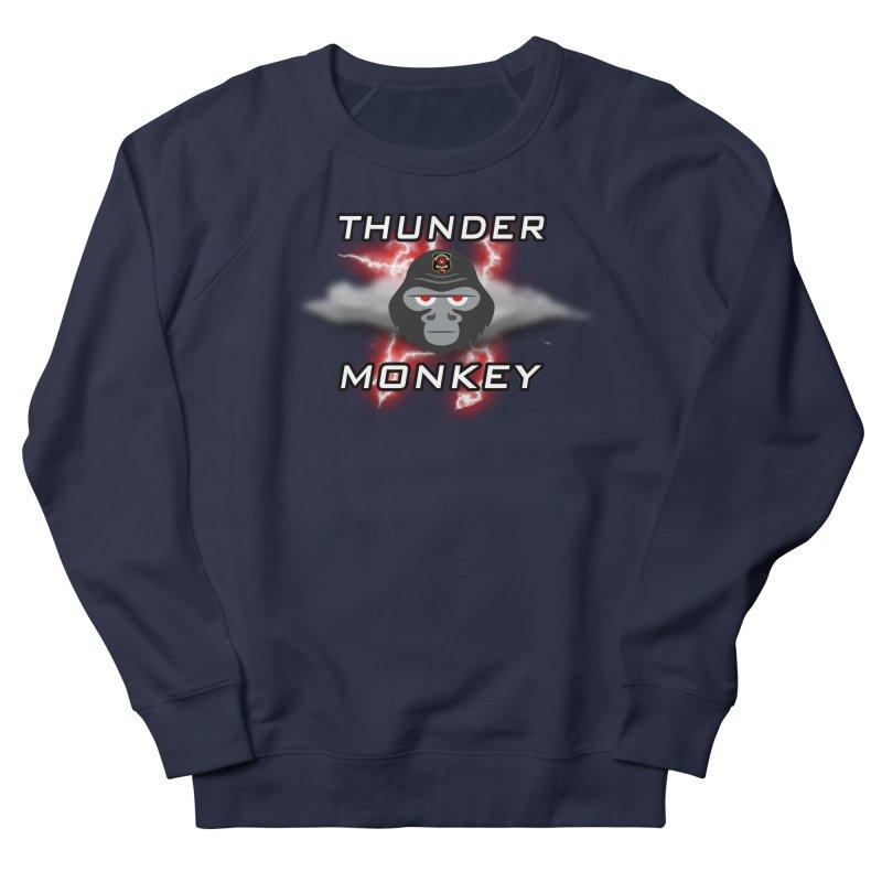 Thunder Monkey Women's Sweatshirt by Vegetable Police
