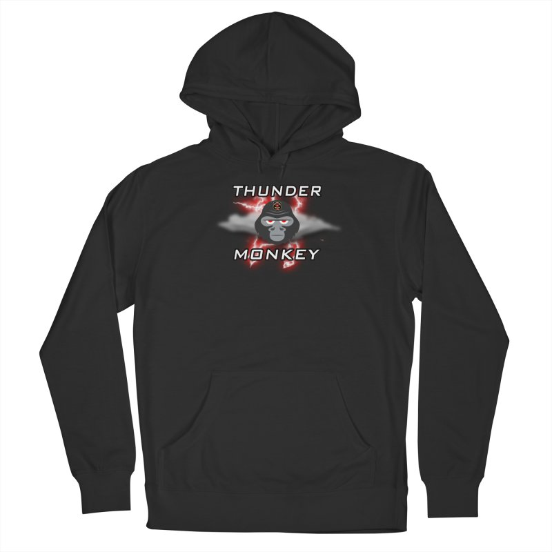 Thunder Monkey Women's Pullover Hoody by Vegetable Conspiracies