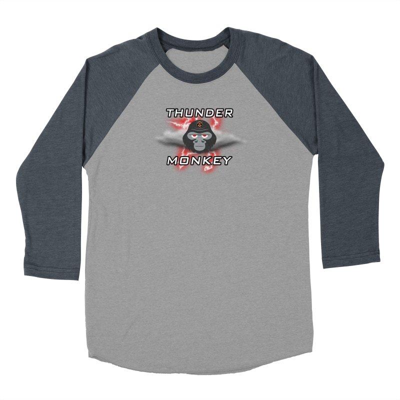 Thunder Monkey Women's Longsleeve T-Shirt by Vegetable Conspiracies
