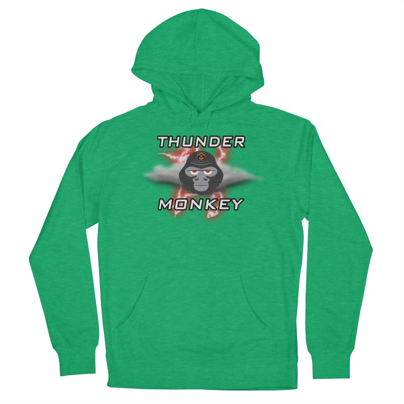Thunder Monkey Women's Pullover Hoody by Vegetable Police