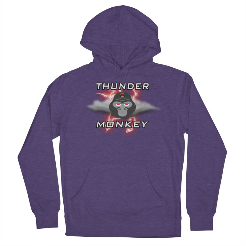 Thunder Monkey Women's French Terry Pullover Hoody by Vegetable Police