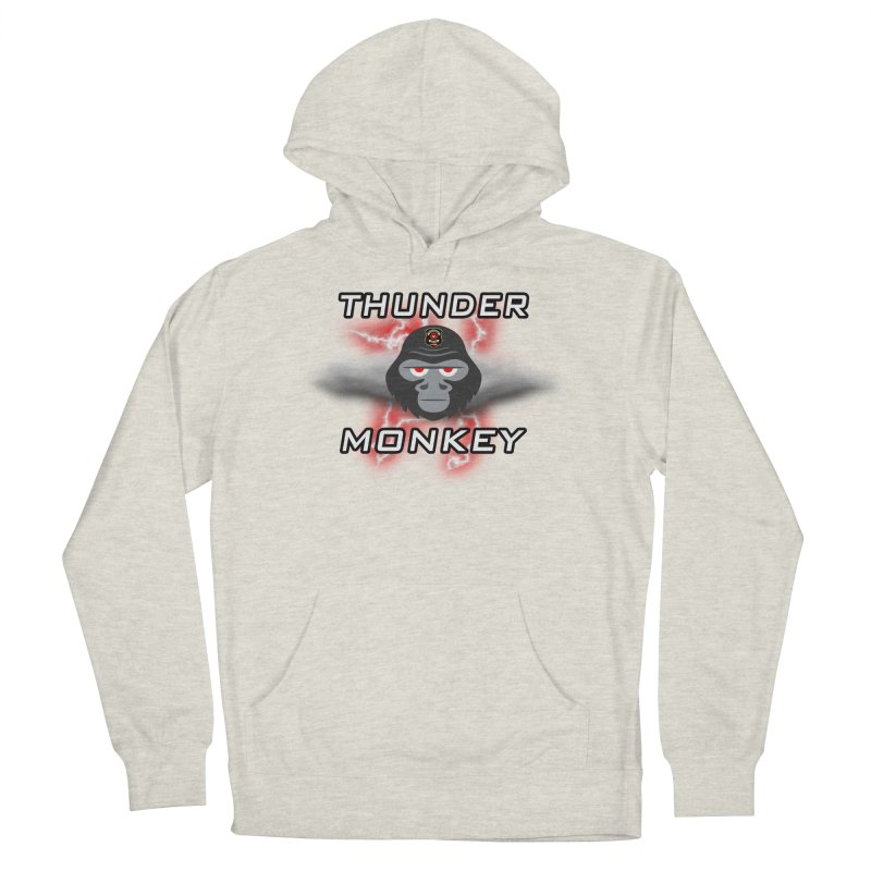 Thunder Monkey Men's French Terry Pullover Hoody by Vegetable Police