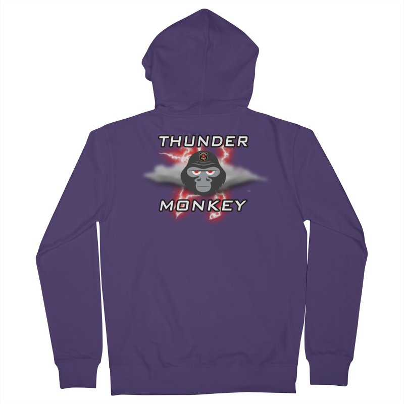 Thunder Monkey Women's Zip-Up Hoody by Vegetable Conspiracies