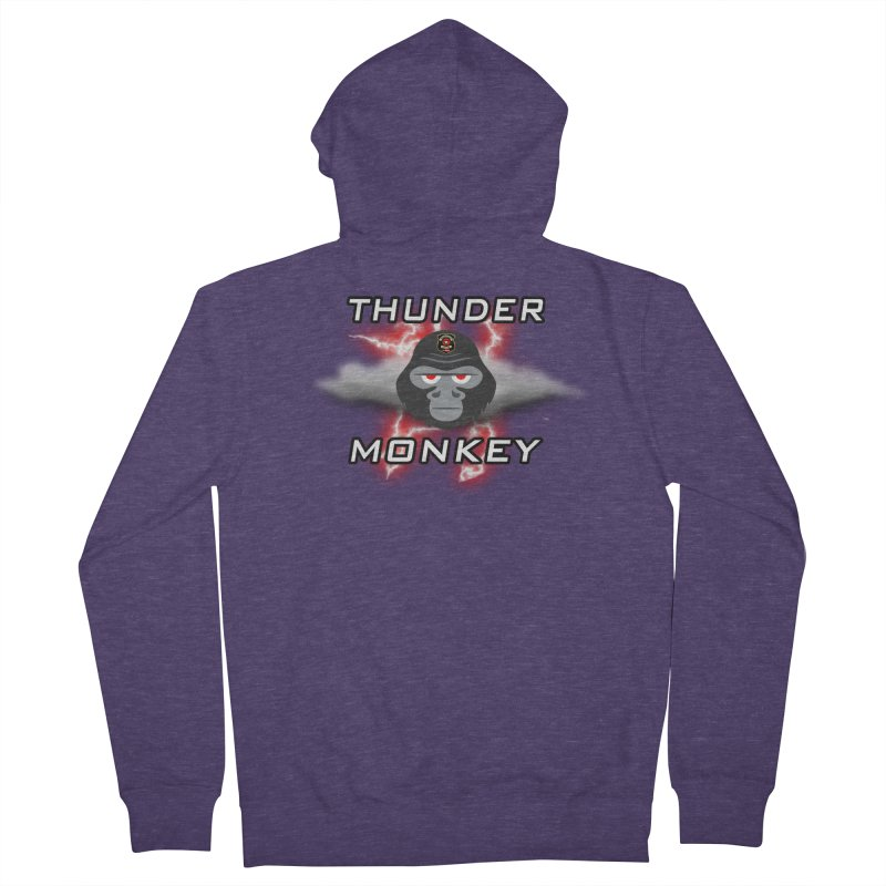 Thunder Monkey Men's French Terry Zip-Up Hoody by Vegetable Police