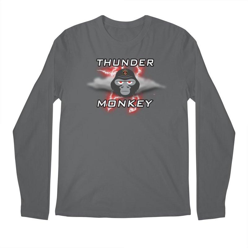 Thunder Monkey Men's Longsleeve T-Shirt by Vegetable Police