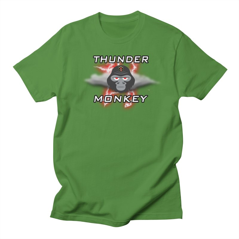 Thunder Monkey Men's T-Shirt by Vegetable Police