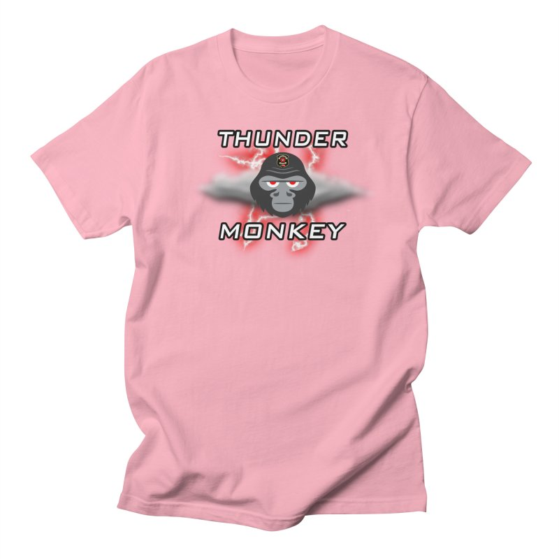 Thunder Monkey Men's Regular T-Shirt by Vegetable Police