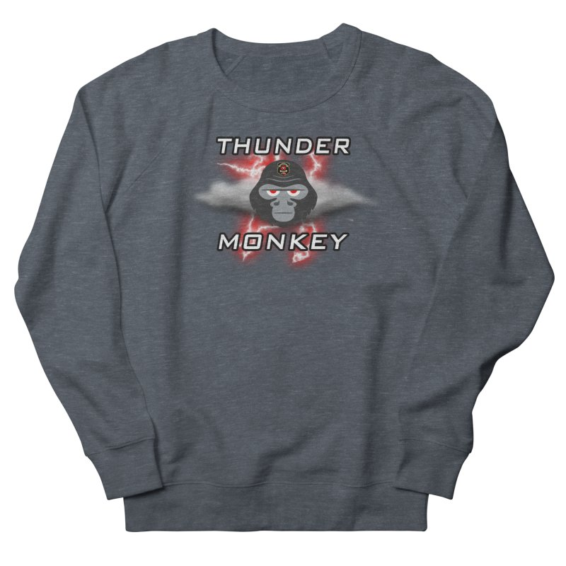 Thunder Monkey Women's Sweatshirt by Vegetable Conspiracies