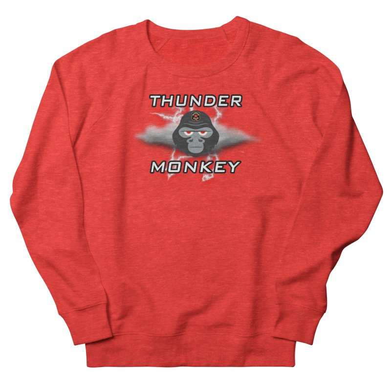 Thunder Monkey Women's Sweatshirt by Vegetable Conspiracies