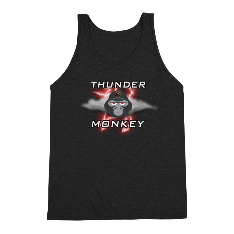 Thunder Monkey Men's Tank by Vegetable Conspiracies